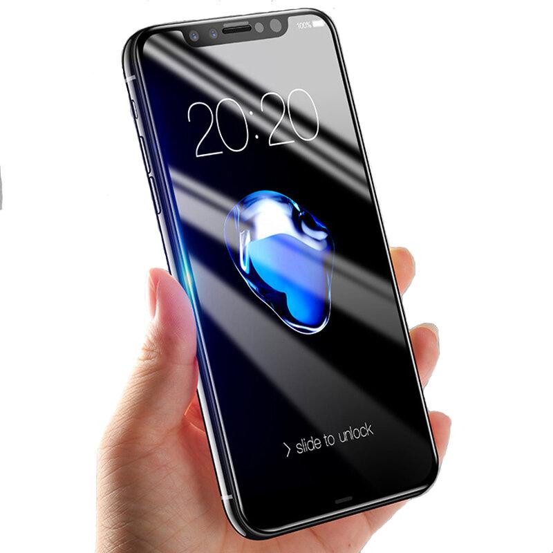 Bakeey 5D buet kant kaldskjæret herdet glass skjermbeskytter for iPhone XS / iPhone X / iPhone 11 Pro