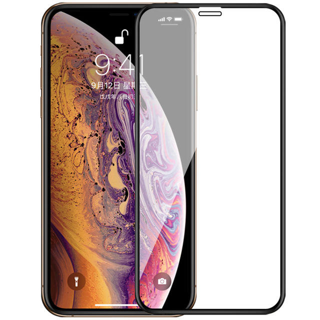 Bakeey Upgrade 2,5D buet kant silkeherdet glass beskyttelsesfilm for iPhone X/XS / XR / XS Max