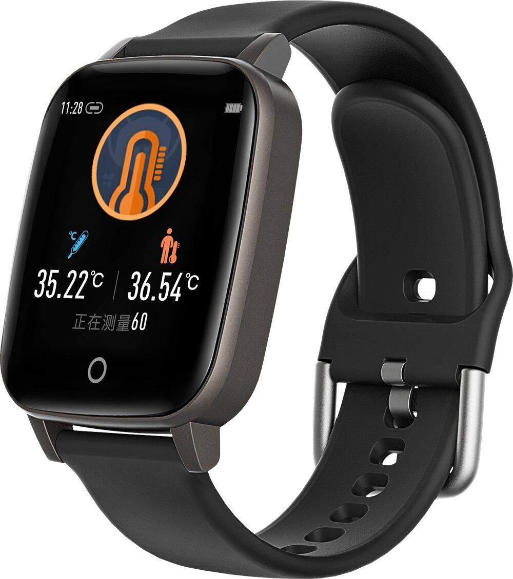 Bakeey T1 1.3 inch bluetooth 5.0 Temperature Measurement Wristband Health Fitness Tracker IP67 Waterproof Smart Watch
