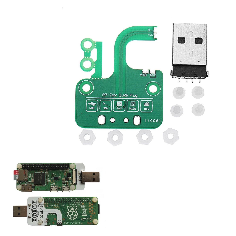 BadUSB Zero Quick Plug For Raspberry Pi Zero v1 3/ Zero W
