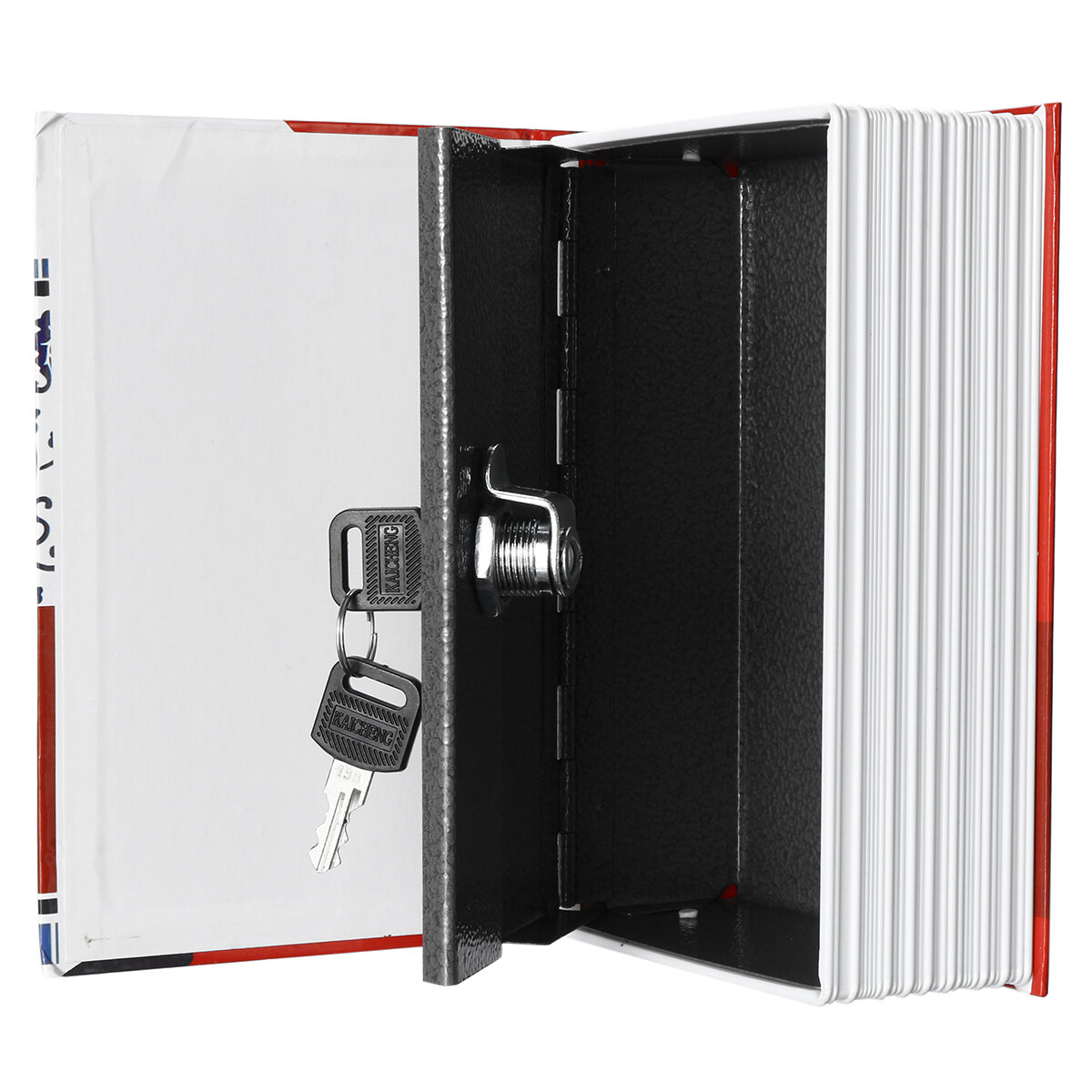 UK Home Security Dictionary Book Safe Storage Password Lock Box for Cash Money
