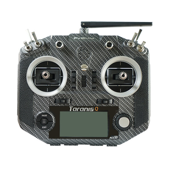 Frsky 2.4G 16CH ACCST Taranis Q X7S Carbon Fiber Water Transfer Transmitter Mode2 M7 for RC Drone
