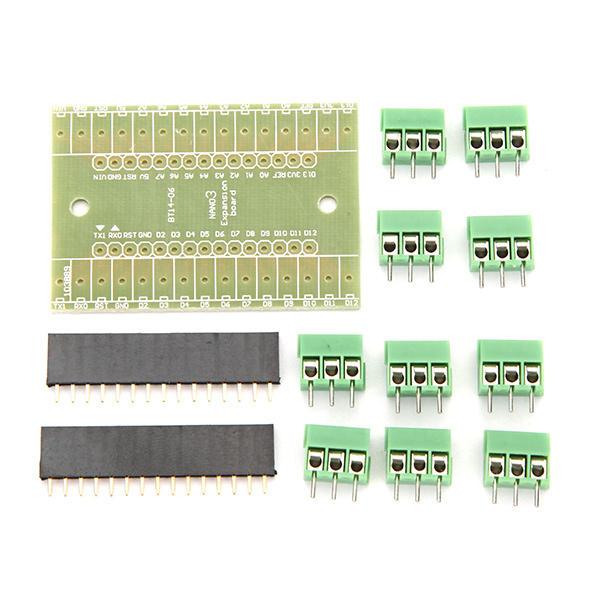 3Pcs DIY NANO IO Shield V1.O Expansion Board For Arduino