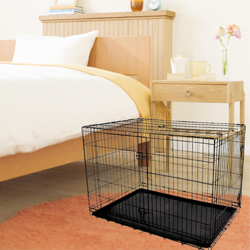 High Quality Cheap Wholesale Dog House Pet Door Dog Kennels Cage 42 Dog Crate