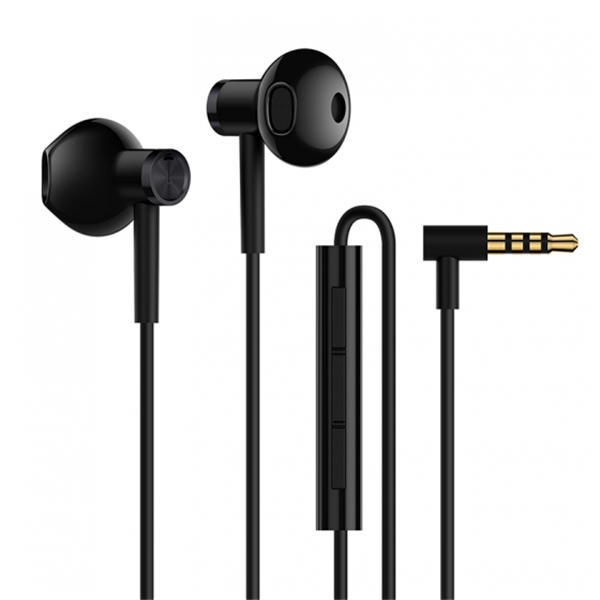 58ab417691f Original Xiaomi Dynamic Driver+Ceramics Driver Shallow In-ear Wired Earphone  Headphone With Mic - Black COD