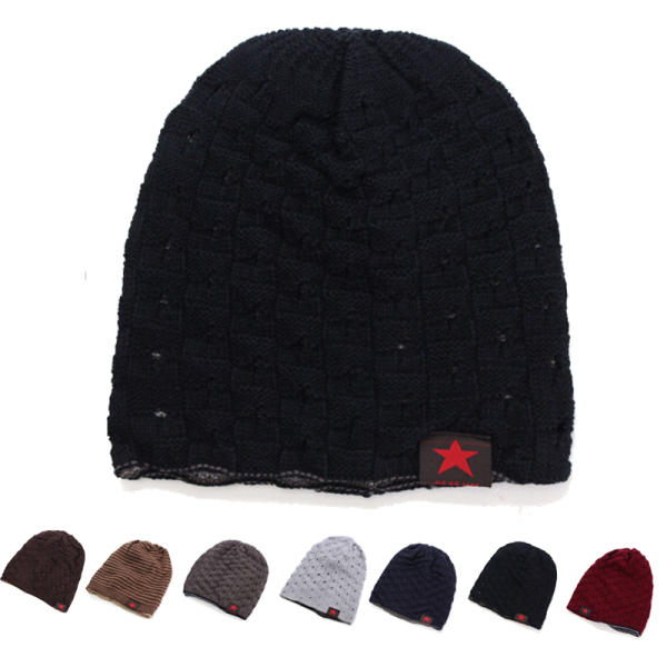 99d0f7e3e Unisex Winter Warm Skull Knit Beanie Cap Dual Wearable Men Women Riding  Skiing Hat