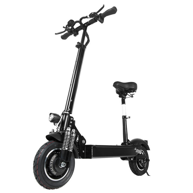 Janobike 2000W Dual Motor 23.4Ah 10 pollicies Folding Electric Scooter with Seat