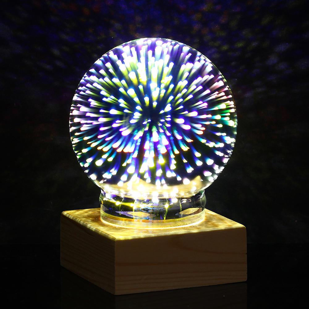 STEM Upgrade USB Plasma Ball Sphere Lightning Light Magic Crystal Desk Lamp Globe Laptop Decor