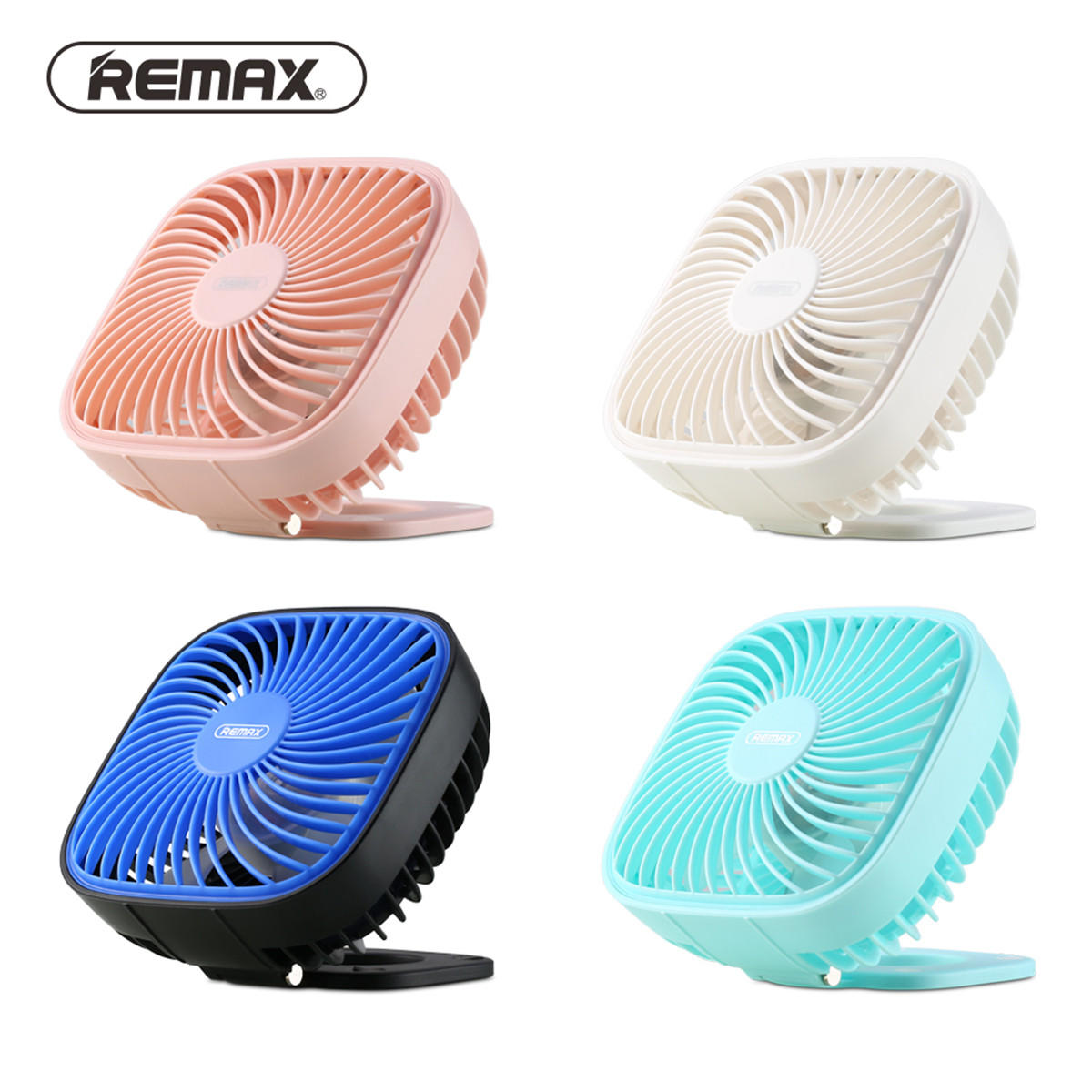 Remax F23 3-Speed USB Fan Mini Portable Cooling Desk Office Computer Laptop Fan