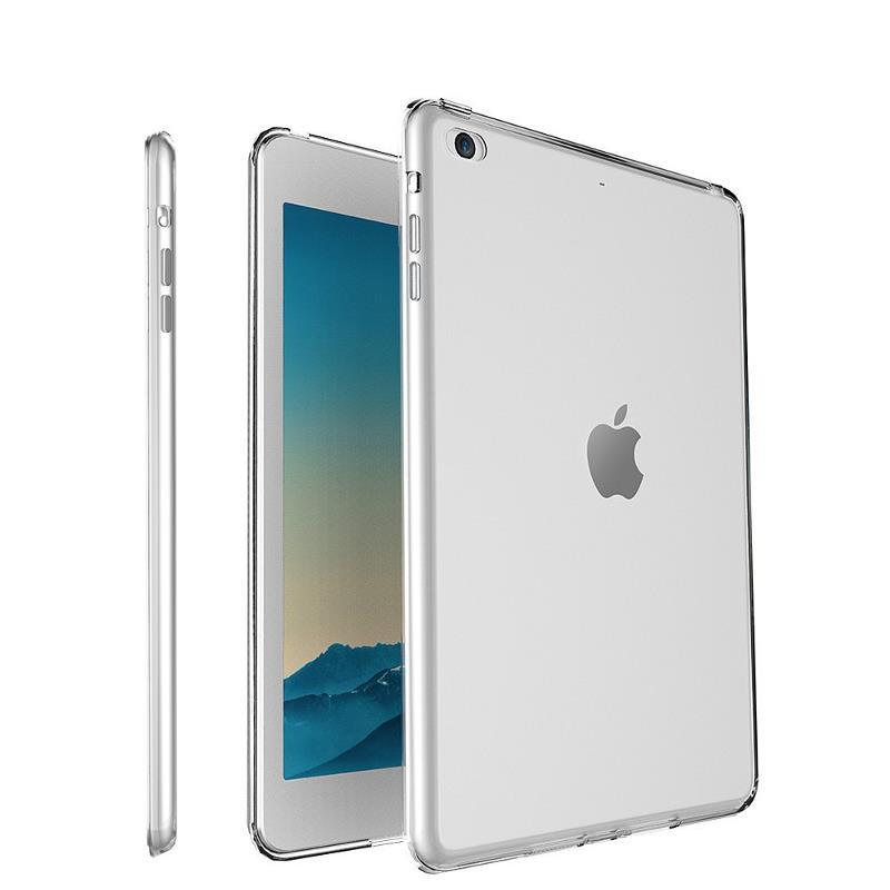 Klar gjennomsiktig Soft TPU Veske til iPad Air / Air 2
