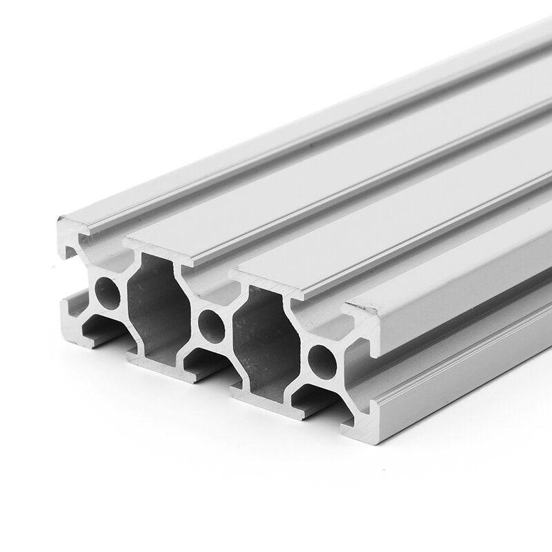 Machifit 200/300/400mm Length 2060 T-Slot Aluminum Profiles Extrusion Frame  For CNC