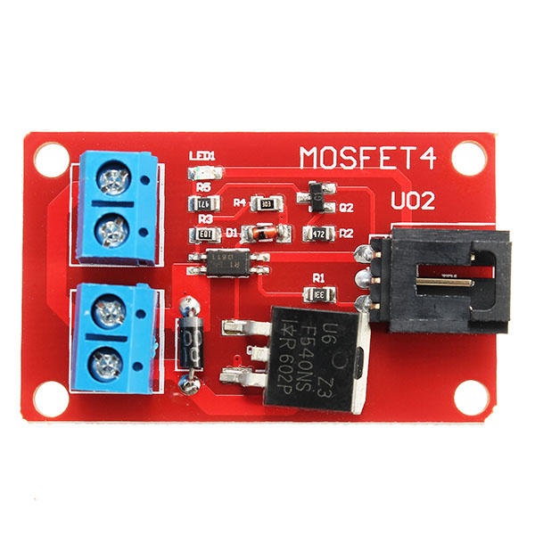 3Pcs DC 1 Channel 1 Route IRF540 MOSFET Switch Module For Arduino Motor Drives Lighting Dimming