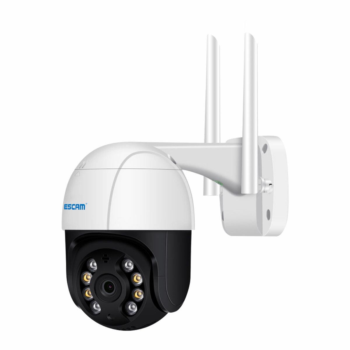 Картинка - ESCAM QF218 1080P Pan / Tilt AI Обнаружение гуманоидов Облачное хранилище Водонепроницаемы WiFi IP камера с двусторонней