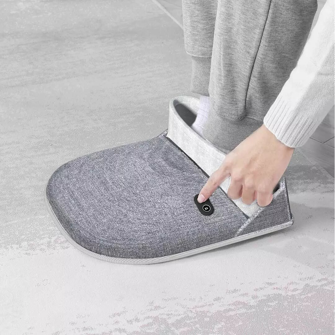 PMA Graphene Heating Foot Warmer Far Infrared Hot Compress Vibration From Xiaomi You Pin 3 Gears Temperature & 3 Gears S