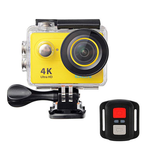 EKEN H9R स्पोर्ट्स एक्शन कैमरा 4K अल्ट्रा HD 2.4G रिमोट वाईफाई 170 डिग्री वाइड एंगल