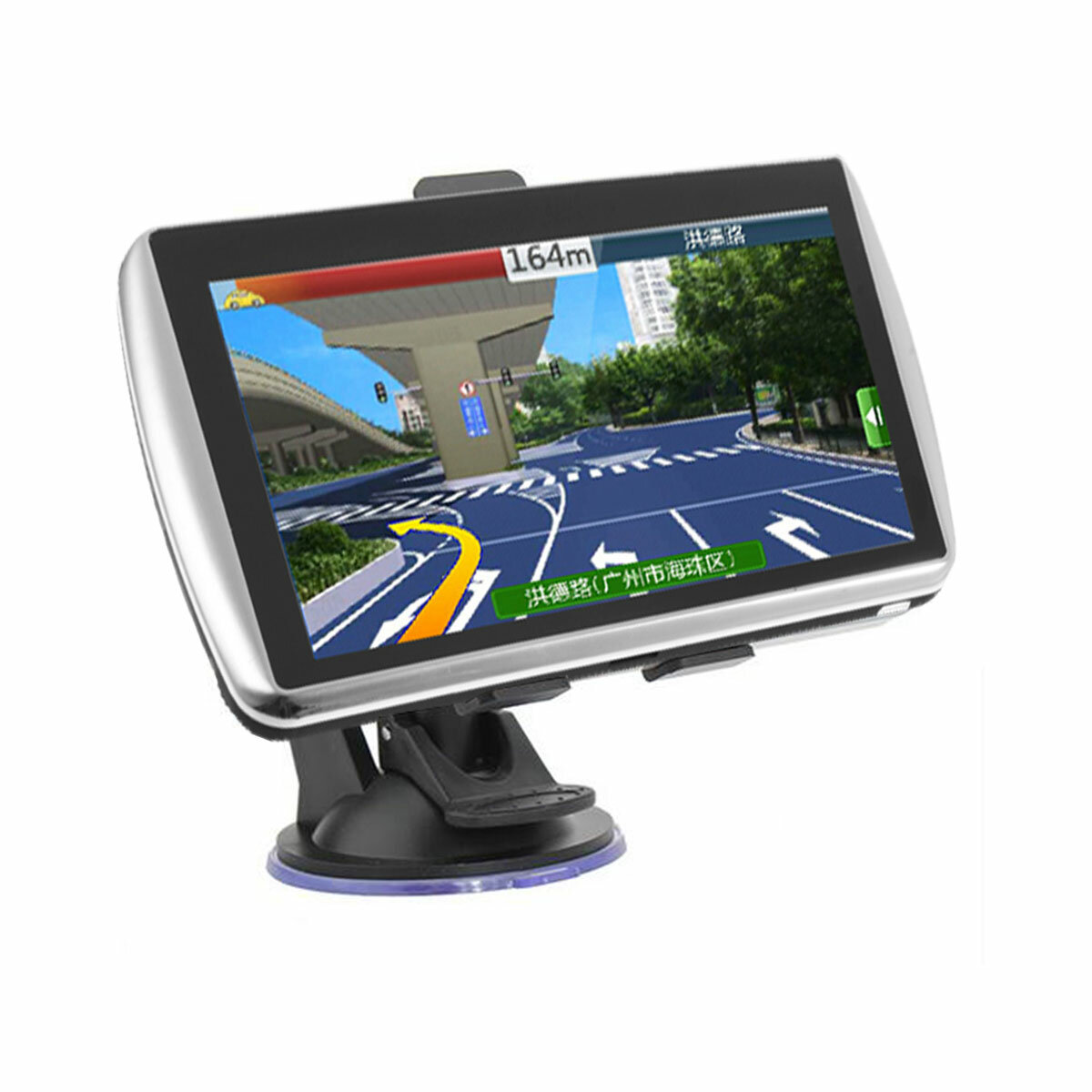 7 Pollici Car GPS Navigatore satellitare TFT LCD Touch Screen Supporto Nord America Europa Mappa