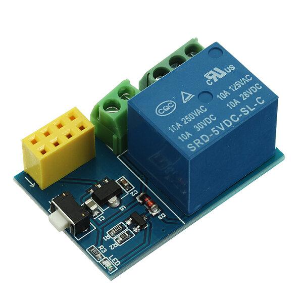 Module chuyển tiếp ESP-01S WiFi Thiết bị chuyển mạch từ xa thông minh APP Thiết kế dự án DIY cho Arduino