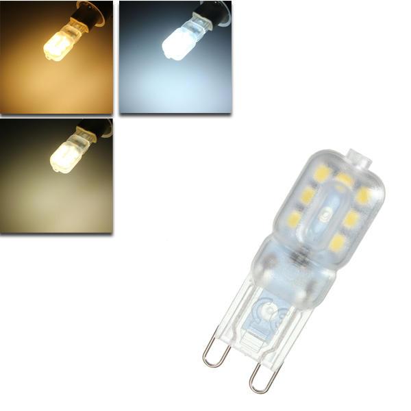 عكس الضوء g9 2.5 واط 14 سمد 2835 ليد الأبيض النقي الأبيض الدافئ الأبيض الطبيعي مصباح لمبة ac110v / ac220v