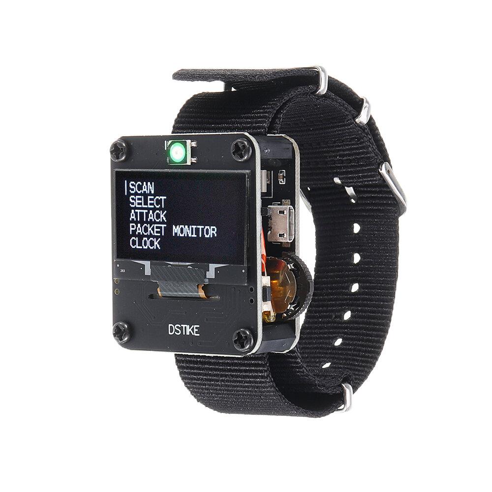 Black Deauther Wristband NodeMCU ESP8266 Programmable WiFi Development Board, Banggood  - buy with discount
