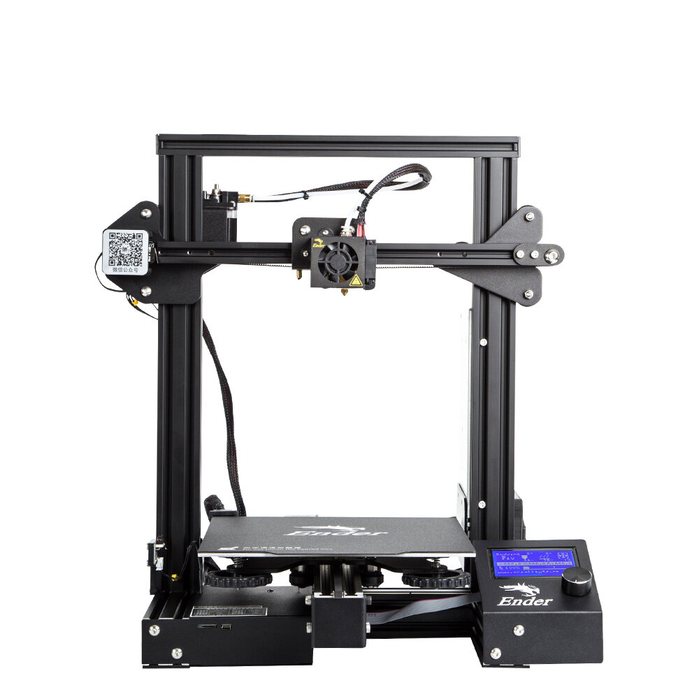 Support Rod Set Ender 3 Parts and Accessories Compatible with Ender-3//Ender3 V2 //Ender-3 Pro Series 3D DIY 220X220X250MM Print Size