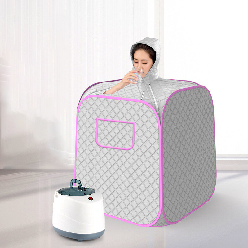 Portable Steam Sauna Spa 2L Personal Therapeutic Sauna for Slimming Detox Relaxation at Home