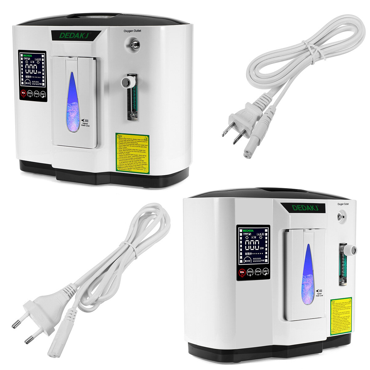 DDT-1A 6L Oxygen Concentrator Portable Home Oxygen Generator Medical Machine