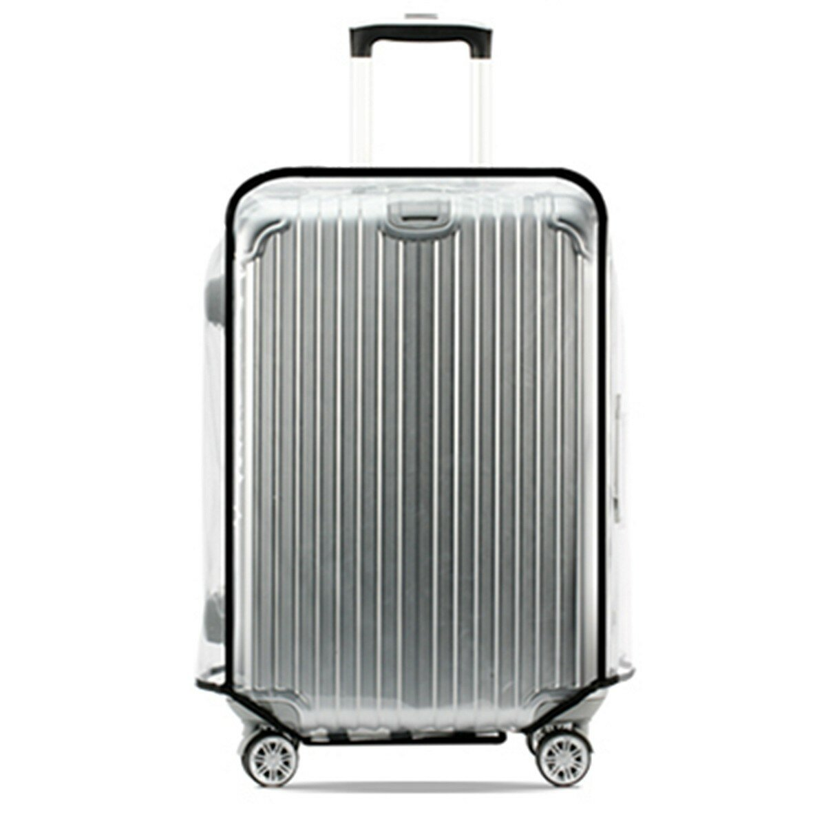 Universal Waterproof Transparent Protective Luggage Cover Suitcase Case Travel фото