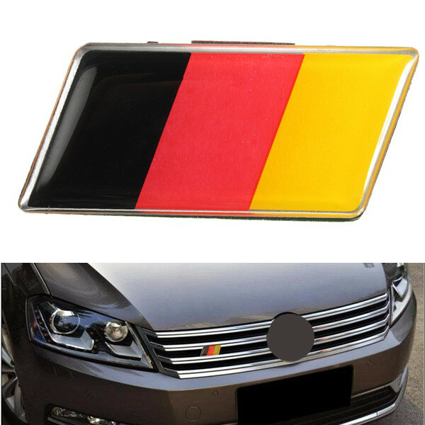 USA Germany Ireland Spain Sweden Flag Aluminum Car Truck License Plate Tag
