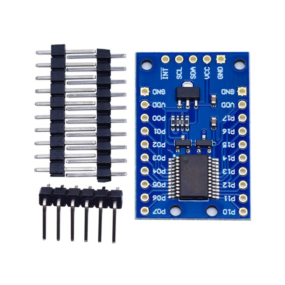 PCF8575 IO Expander Module I2C To 16 IO Integrated Circuits For Arduino, Banggood  - buy with discount