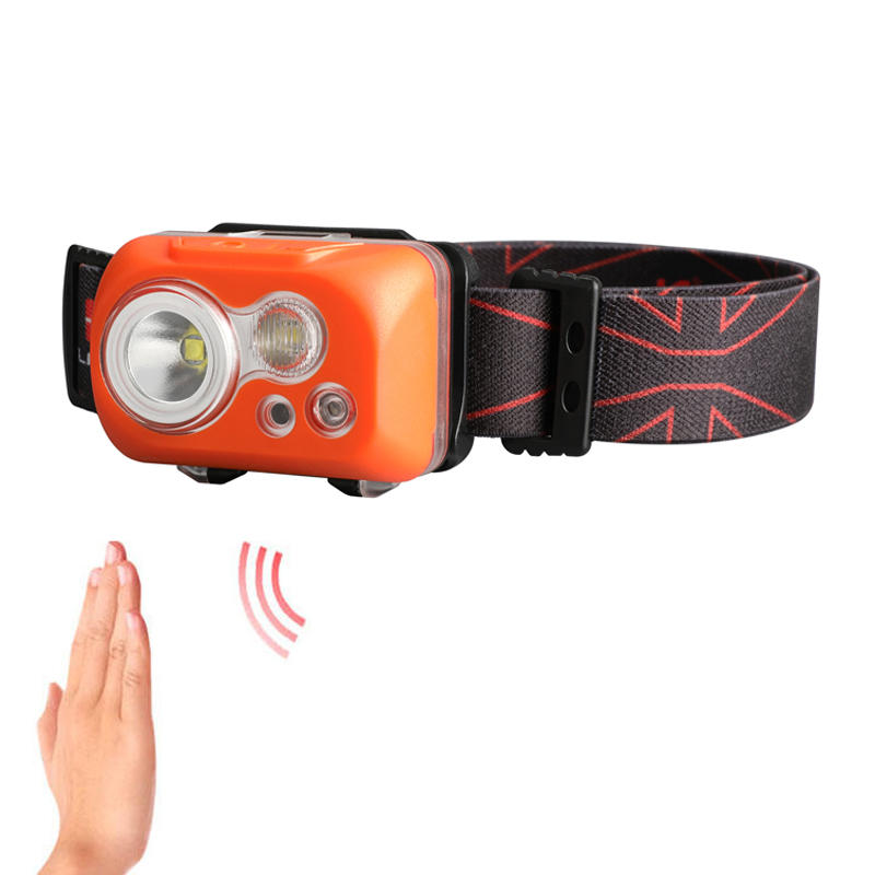 KLARUS HC1-S 2 LEDs 300LM 5 Modes 60° Adjustable IPX8 Waterproof Motion-controlled Cycling Headlamp