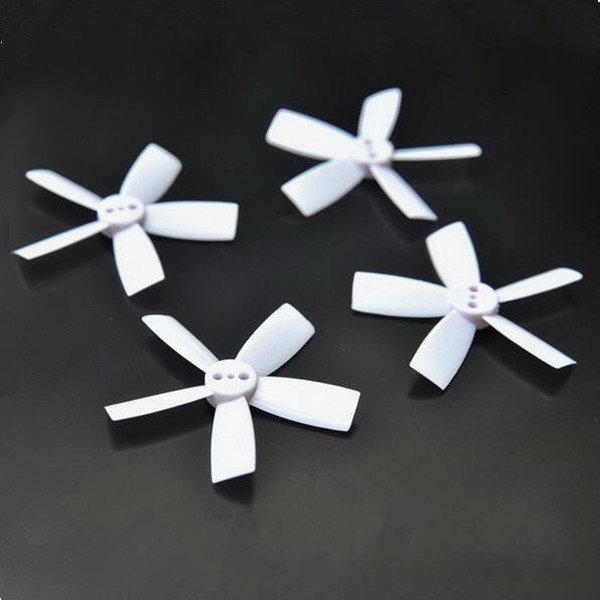 4Pcs 2.0 Inch 50MM ABS 5-Blade Square Propeller 2 CW & 2 CCW for 1104 Motor