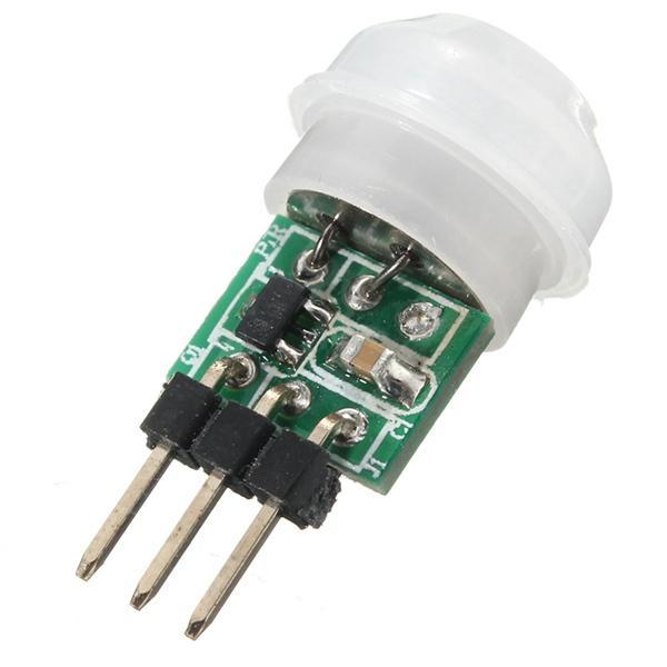 Mini IR Infrarood Pyroelectric PIR Body Motion Sensor Detector Module