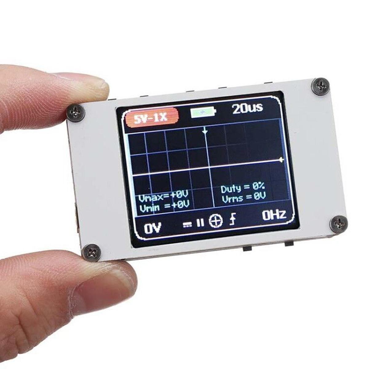 DANIU DSO188 Pocket Digital Ultra-liten Oscilloskop 1M Bochbredd 5M Sample Rate Hochheld Oscilloskop Kit