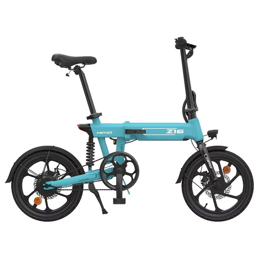 [EU DIRECT]HIMO Z16 250W 36V 10.4Ah 16inch Folding Electric Bike 25km/h Top Speed 80km Mileage Range 3 Modes Max Load
