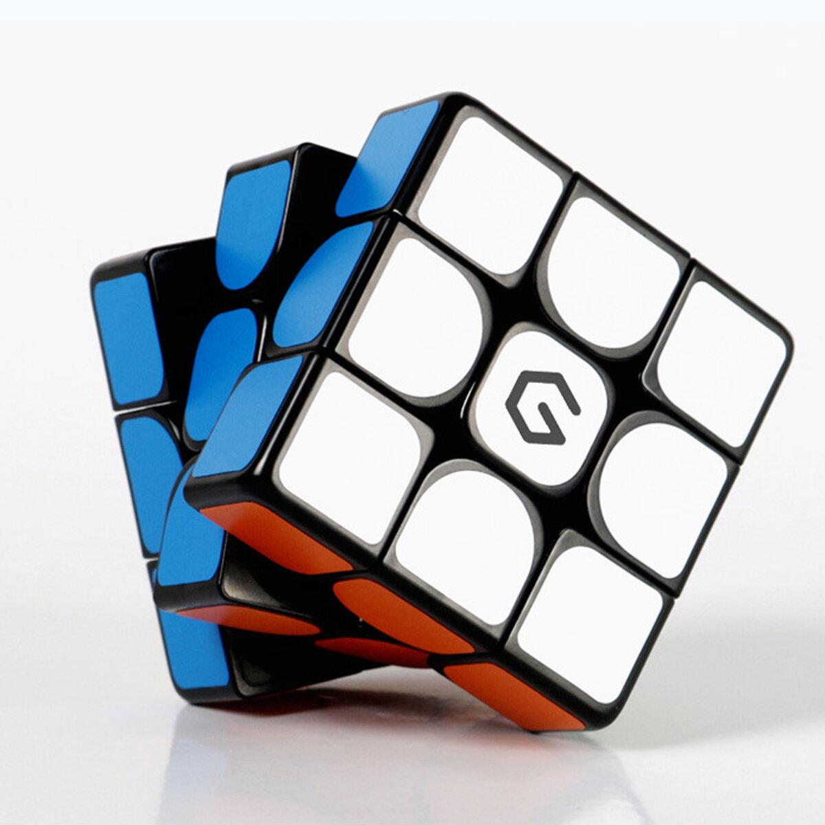 Giiker M3 चुंबकीय Cube 3x3x3 ज्वलंत रंग वर्ग जादू Cube पहेली विज्ञान शिक्षा खिलौना उपहार xiaomi youpin से