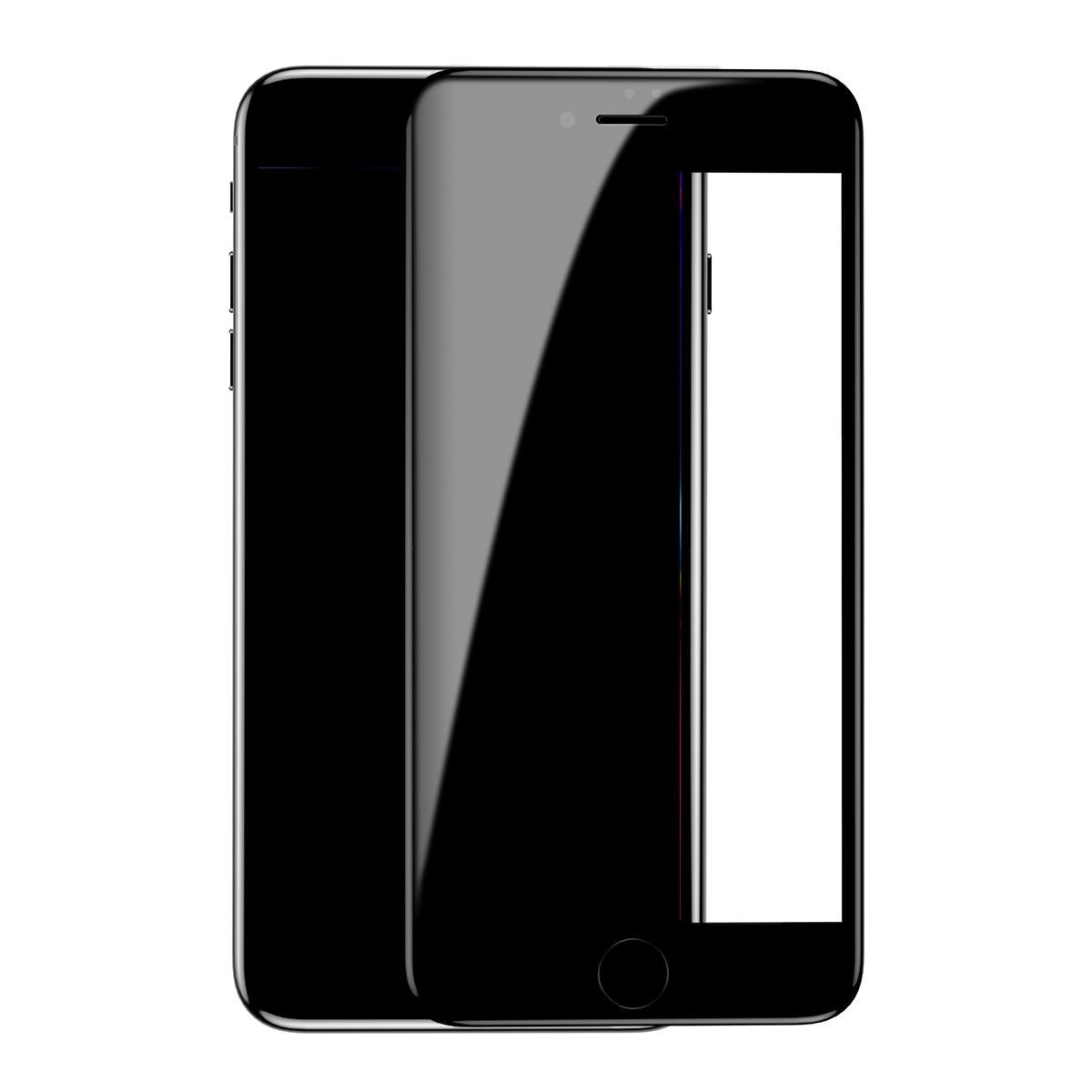 Baseus True 7D buet kant klar eksplosjonsbeskyttet, temperert glass beskyttelsesfilm for iPhone 7 Plus/8 Plus