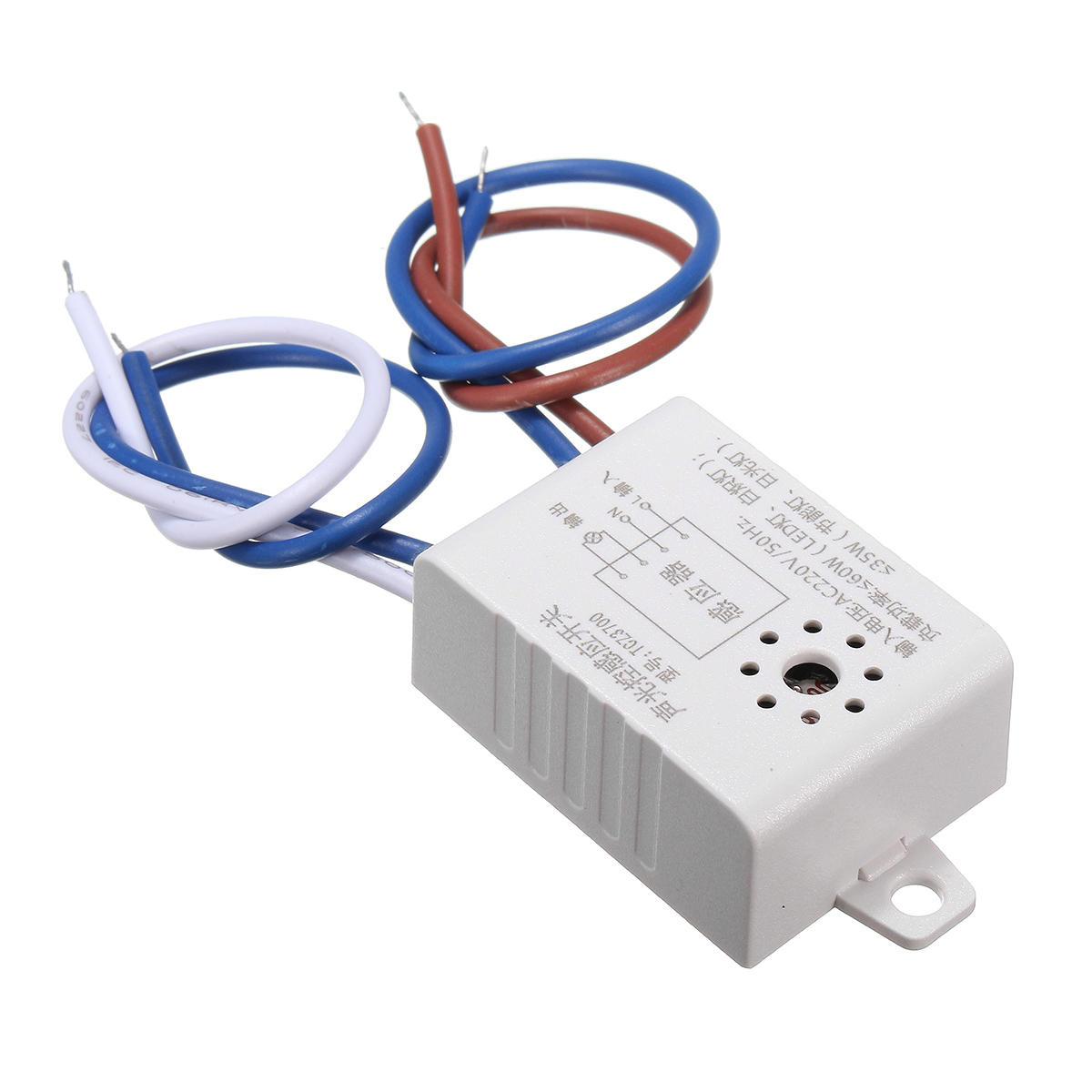Module 220V Detector Auto On Off Sound Voice Sensor Intelligent Light Switch