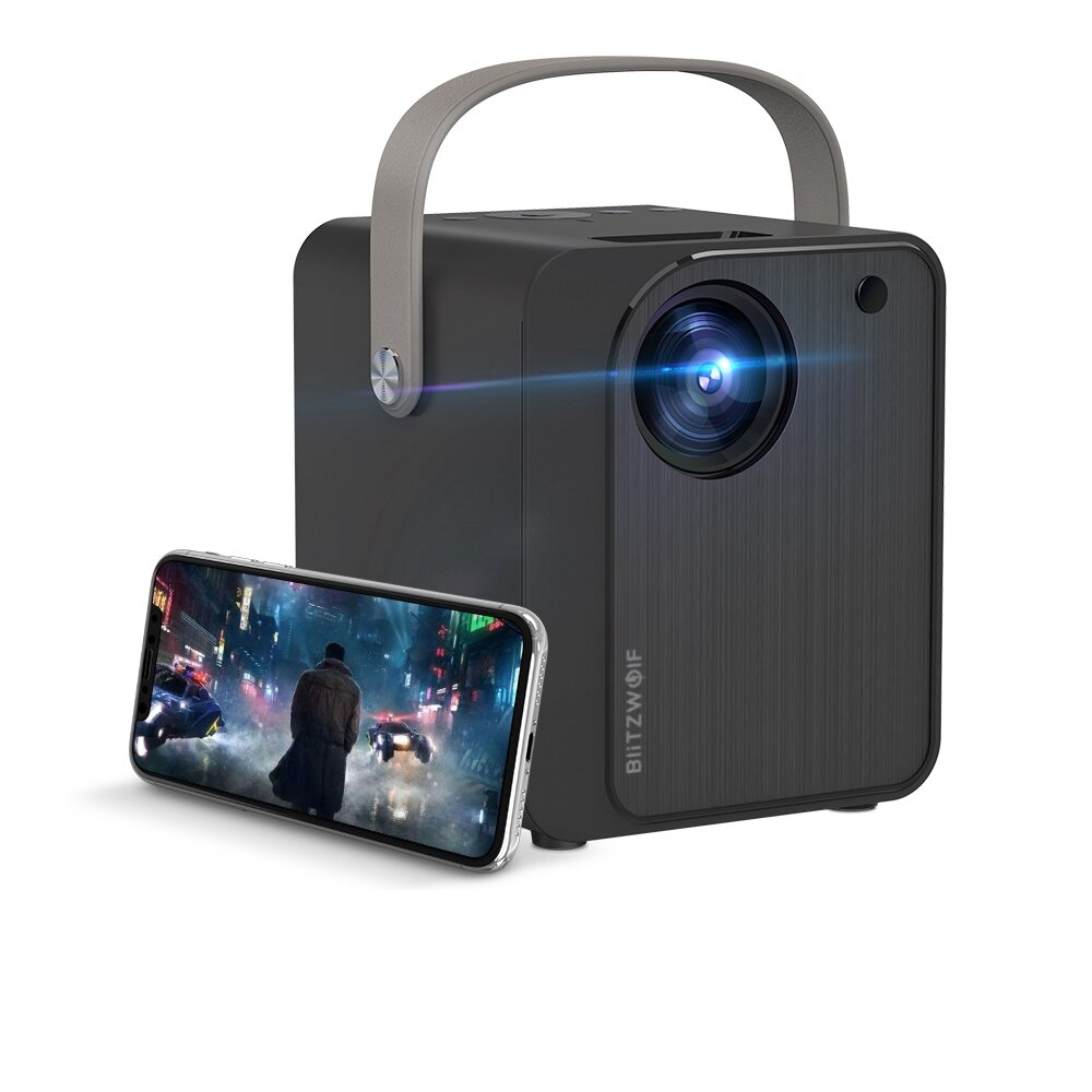 BlitzWolf BW-VP7 5000 Lux Mini LED Wifi Projector Wireless Screen Mirroring 1080P Supported 170
