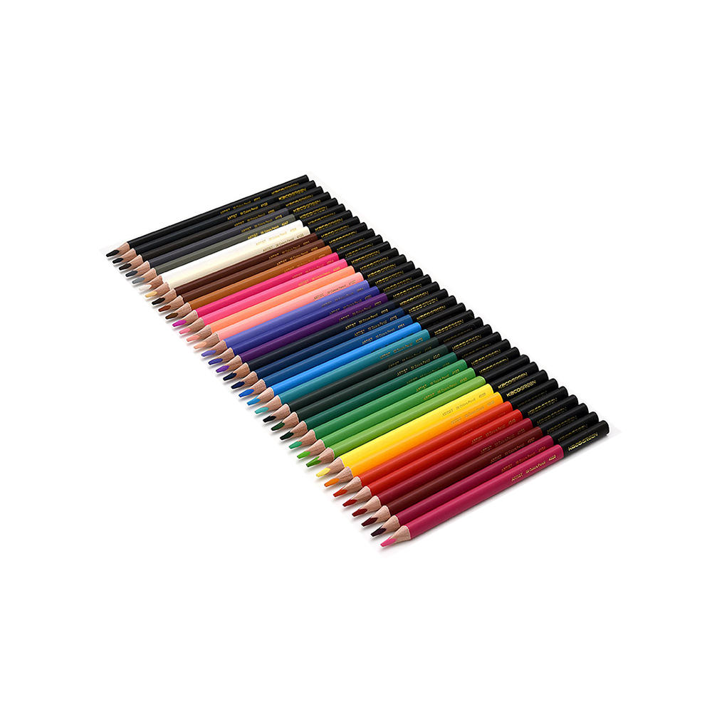 XIAOMI 36 Pcs Colored Pencils 36 Bright Colors Drawing Sketching Pencil Set Crayon Stationery Office School Supplies