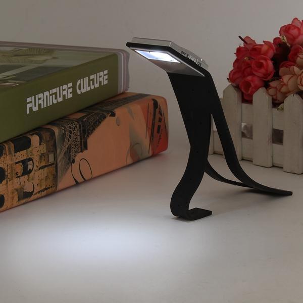 LED Flexible Folding Table Lamp Travel Light Reading Book Light
