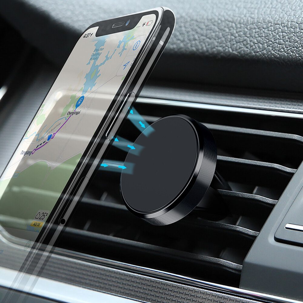 c83371a0a Magnetic Car Phone Holder 360 Rotation Air Vent GPS Mount Stand Universal  for Xiaomi/iPhone COD