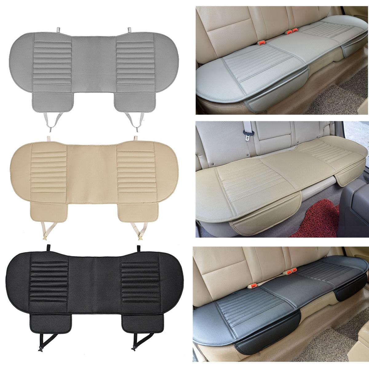 138X49cm PU Leather Car Rear Seat Covers Universal Seat Protector Seat Cushion Pad Mat фото