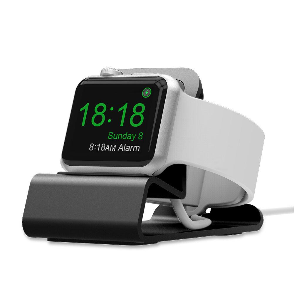 Aluminium Alloy Ladestasjon Klokke Stand Holder For IWatch / Apple Watch Series 1/2/3/4
