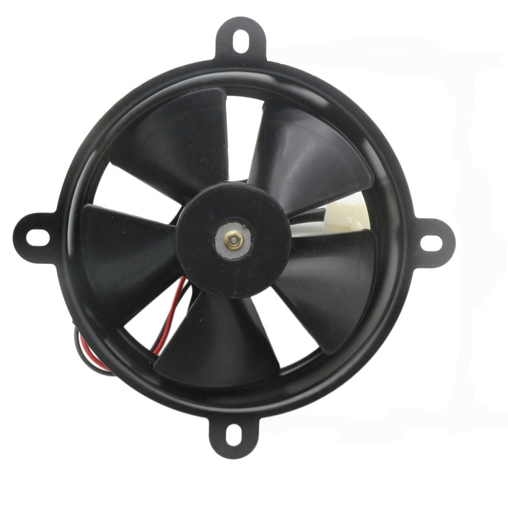 Motorcycle Electric Cooling Fan Fit For 150cc 250cc Quad Dirt Bike ATV Buggy