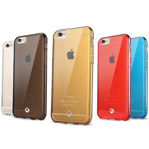 Ốp lưng bảo vệ TPU trong suốt của KLD Air Series dành cho iPhone 6 Plus với M