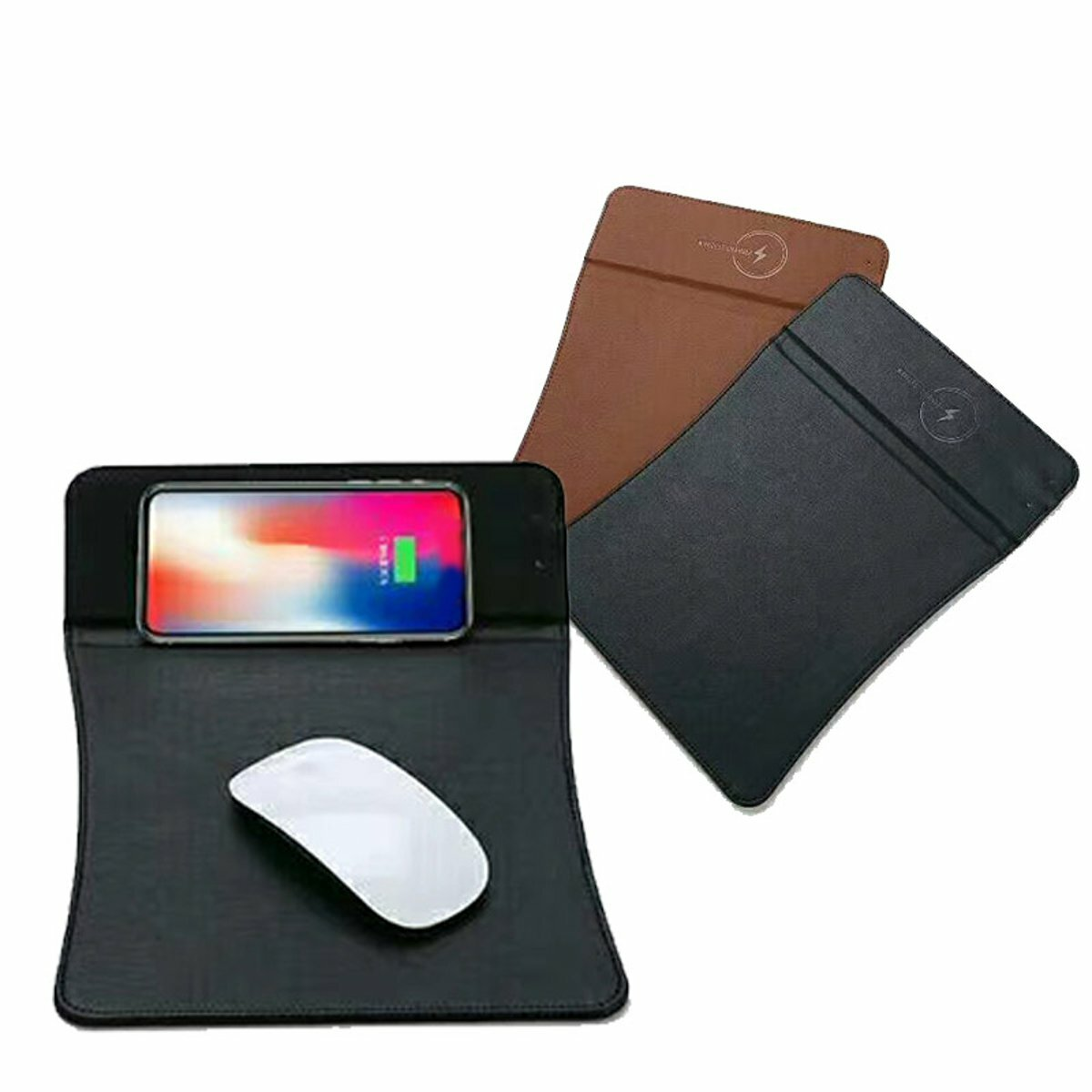 Qi Wireless Fast Charging Mouse Pad For iPhone X/8/8 Plus/Samsung Galaxy S9/S9 Plus/Note 8/Huawei