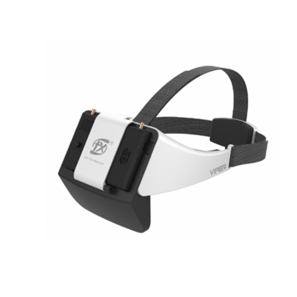 New V2.0 Version FXT VIPER 5.8GHz Diversity HD FPV Goggles with DVR Built-in Refractor for RC Drone