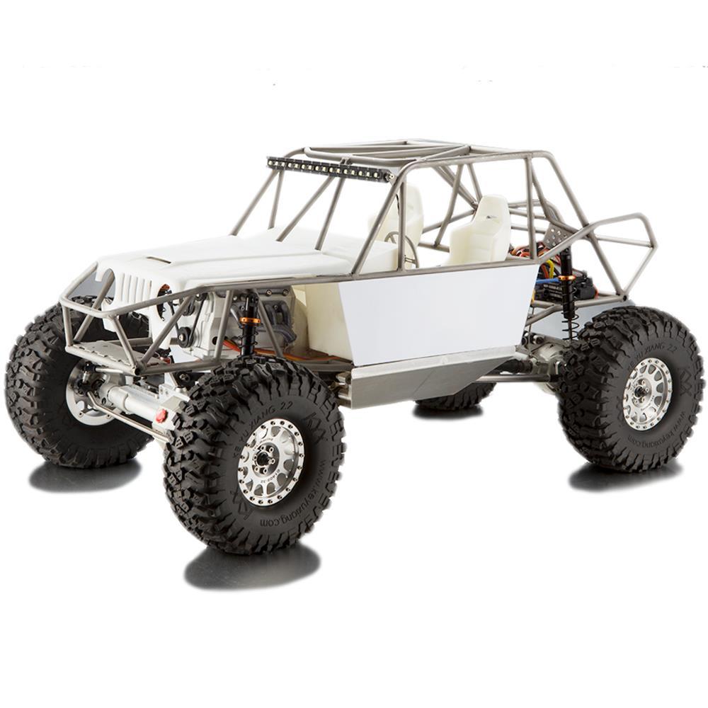 TFL C1805 Unassembled Kit 1/8 4WD Rc Car Metal 2 Speed Gear Case Crawler with Motor Servo