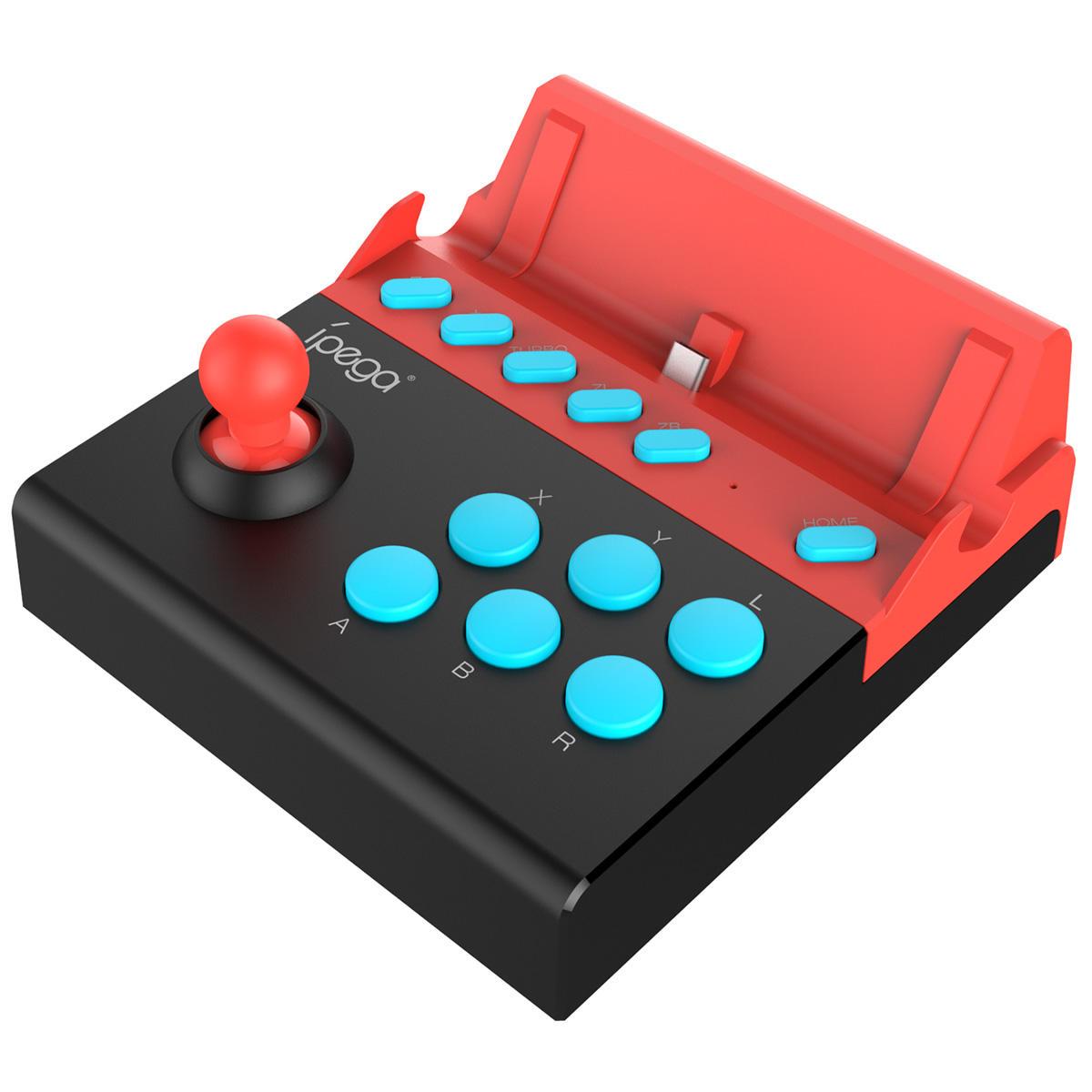 iPega PG-9136 Arcade Joystick USB Nintendo Anahtarı Oyun Konsolu Oyuncu için Çubuk Denetleyici Mücadele