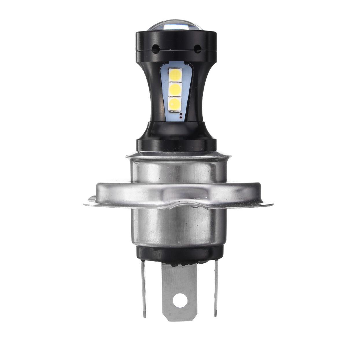 H4 18W 800LM Đèn LED Xe mô tô Hi-Lo Đèn pha Motor Xe máy Bóng đèn Bóng đèn dc-24V